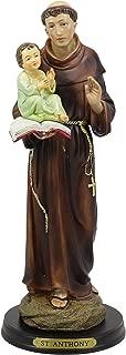 Ebros Gift Catholic Church Saint Anthony of Padua Carrying Baby Jesus Statue 12.75