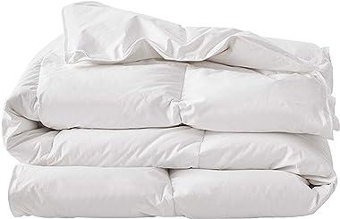 """Down Alternative Summer/Spring Lightweight Duvet Insert Organic Cotton Shell (King(108""""X92""""))"""