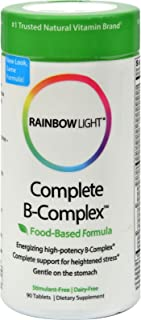 2 Pack of Rainbow Light Complete B-Complex - 90 Tablets