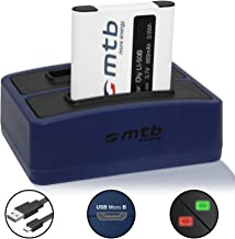 Battery Dual Charger  USB  for Li-50b  D-Li92  LB-050  Olympus SH- SP- SZ- TG- VG- VR- XZ-   -  Pentax WG- - Kodak SPZ1 see list   Cable micro USB included