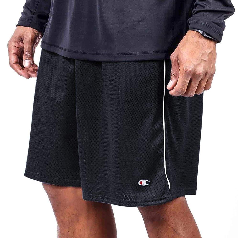 憲法流ゲスト[チャンピオン] メンズ ハーフ&ショーツ Champion Men's Big & Tall Mesh Short [並行輸入品]