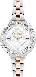 FURLA Femmes Analogique Quartz Montre avec Bracelet en Acier Inoxydable R4253109505