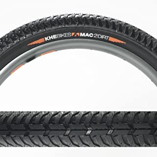 KHE MAC2 DIRT 20 x 58mm Folding Black Tire (pair)