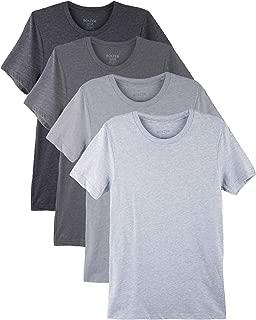 Bolter 4 Pack Men's Everyday Cotton Blend Short Sleeve T-Shirt
