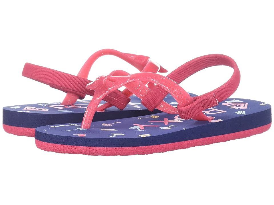 Roxy Kids Fifi II (Toddler) (Red) Girls Shoes