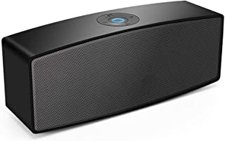 Portable Bluetooth Speakers,Dual-Driver Wireless USB Speaker with Surround Stereo Sound and Built-in-mic,for PC Computer L...