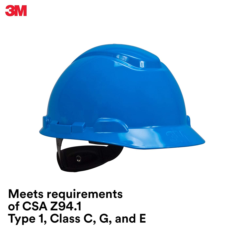 3M Jacksonville Mall H-703R-UV Hard Hat Popularity with Sensor Ratchet 4-Point Susp UVicator