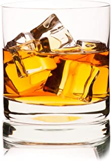 Georges Briard Old-Fashioned Lead-Free Crystal Tumbler Glass, Set of 4 in Gift Box