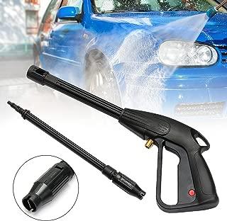 SAFETYON Pistola de lavado a presión 160Bar M14 Boquilla con Rosca de para Limpiar coches, casa o jardines