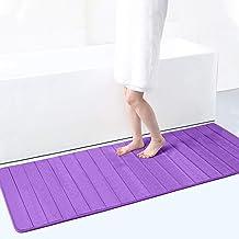 Memory Foam Soft Bath Mats - Non Slip Absorbent Bathroom Rugs Extra Large Size Runner Long Mat for Kitchen Bathroom Floors...