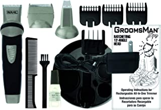 WAHL GroomsMan Body Rechargeable Grooming Kit All-in-One Trimmer, 9953-1027