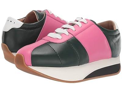 MARNI Big Foot Sneaker (Juniper/Fuchsia) Women