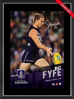 Sport Entertainment Products NAT Fyfe Signed Vertiramic