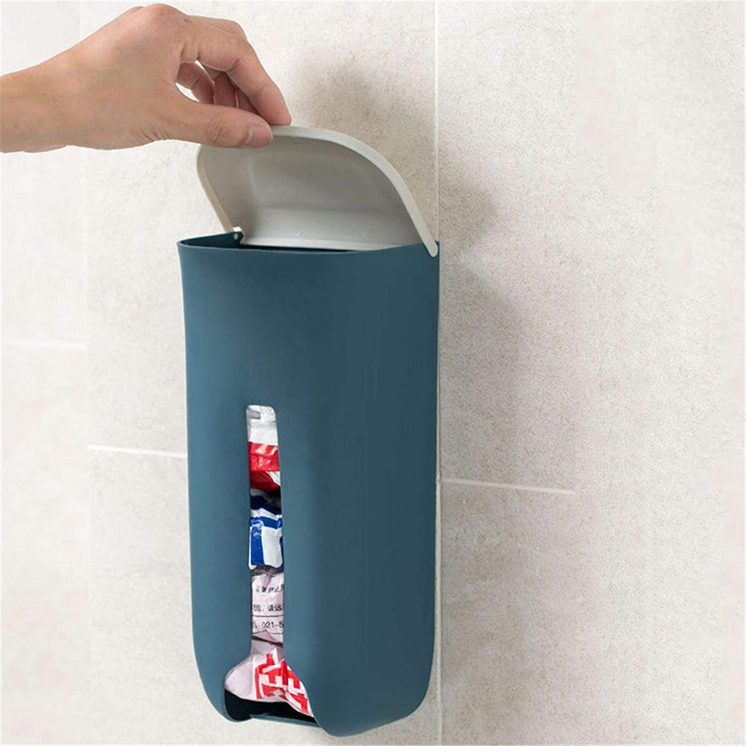 AIHOME Grocery Bag Storage Holder Wall Mount Grocery Plastic Bag Holder Kitchen Grocery Plastic Bag Holder Bag Dispenser with Extra-Wide /& Easy-Access Openings Wall Mount Bag Saver