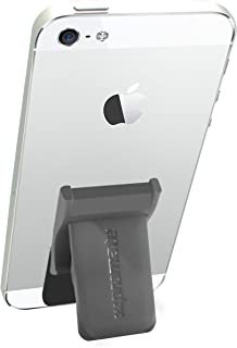 Promate GripMate Universal Smartphone Secure Finger Grip and Kick-Stand - Grey