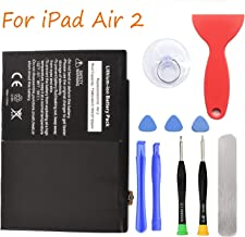HDCKU Battery Replacement Kit for iPad Air 2 A1566, A1567 with Full Set Repair Tools(1 Year Warranty)