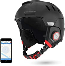 Swagtron Snowtide Bluetooth Ski & Snowboard Helmet with Audio, SOS Alert, Walkie-Talkie/Push-to-Talk (Unlimited Range) & More