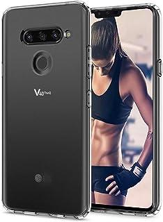 LG V40 ThinQ Phone Case, LG V40 Case Clear, Slim Thin Flexible TPU Scratch Resistant Rubber Gel Soft Skin Silicone Shockpr...