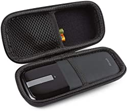 BOVKE Protective Carrying Case for Microsoft Arc Touch Wireless Mouse Hard EVA Shockproof Travel Storage Pouch Cover Bag, Black