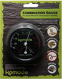 Komodo Combined Thermometer & Hygrometer Analog