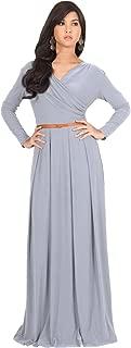 Best gray maxi dress for wedding Reviews