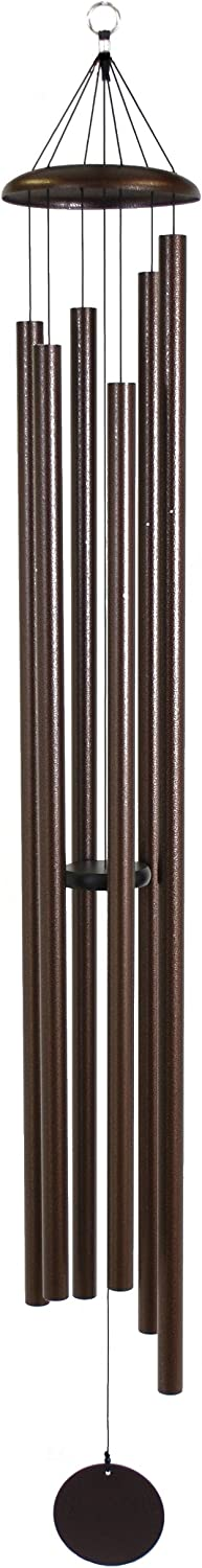 Corinthian Bells 74-inch Translated Vein Windchime Copper Cheap mail order specialty store