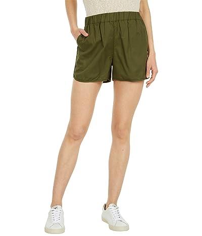 Madewell Pull-On Shorts (Desert Olive) Women