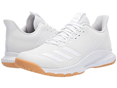 adidas Crazyflight Bounce 3 (Footwear White/Footwear White/Gum M1) Women