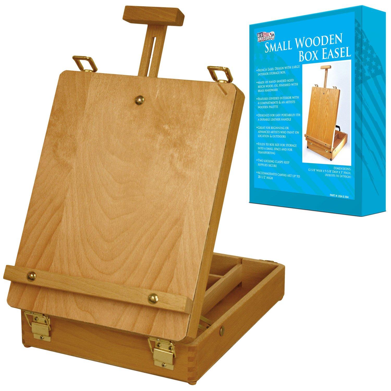 US Art Supply 8 x 12 Wood Artist Painting Palette