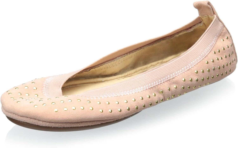 Yosi Samra Women Samra Ballet Flats, pink gold