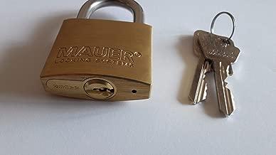 MAUER 185.005 STANDARD High Security Padlock.NO MASS PRODUCTION
