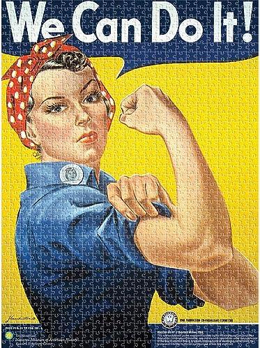 Aquarius Smithsonian Rosie the Riveter Puzzle (1000 Piece) by Aquarius