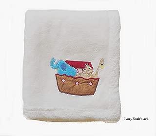 Danica Cozy Line Home Fashions Super Soft Coral Fleece Baby Blanket, Cute Animal Pattern, 40