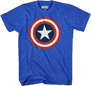 Marvel Captain America Men's 80's Captain America T-Shirt
