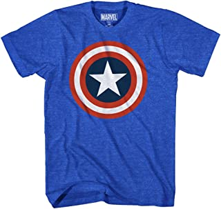 Captain America Men's 80's Captain America T-Shirt