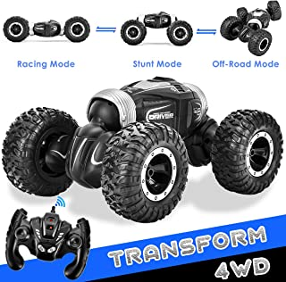 RC Car Offroad Remote Control Cars for Boys, 1/16 4WD High Speed Rock Crawler RC Trucks 4x4 Remote Control Truck Vehicles RC Buggy Electric RC Racing Car Toys for 6-12 Years Old Boys Kids Gift
