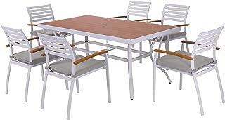 Best aluminum outdoor patio table Reviews