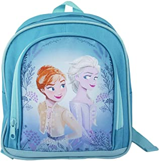 Disney Frozen Queen Elsa and Princess Anna Girls Backpack (One Size)