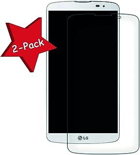 c86ad1c2f60 Funnytech@ [Pack 2] Protector de pantalla Cristal templado para LG F60 l  Calidad