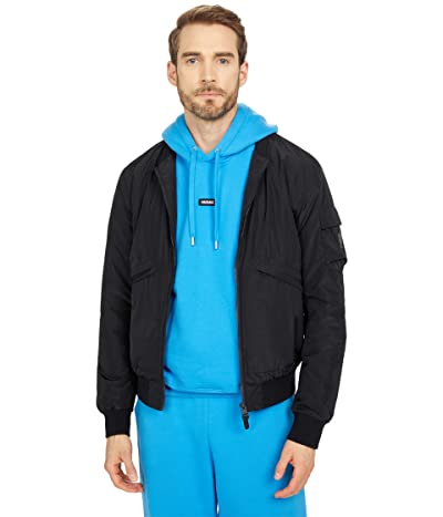 MACKAGE Nolan Hooded Masked Rain Jacket (Black) Men