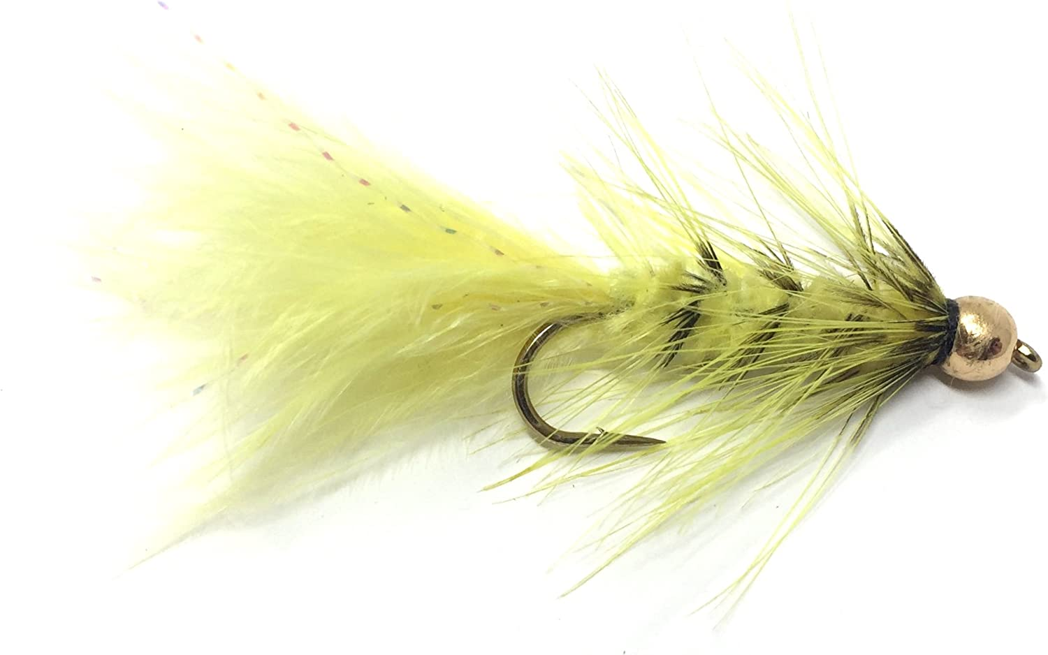 Feeder Creek Wooly Bugger Fly Fishing Flies for Trout, Bass and Salmon- 12pc Handmade Wet Flies for Freshwater Fishing in Various Patterns/Colors : Sports & Outdoors