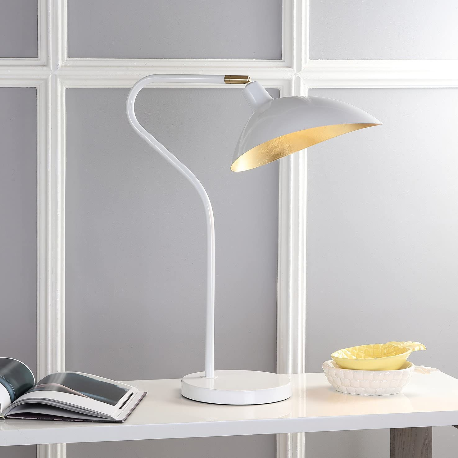 Safavieh Lighting Collection Boston Mall Giselle Designer Adjustable L 70% OFF Outlet Table