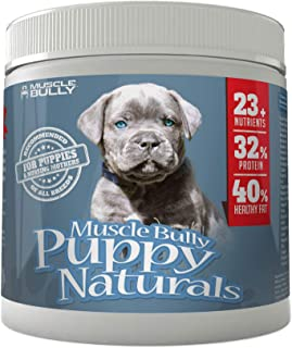 Puppy Naturals (60 Serving) - A Healthy Nutritional Formula for Growing Puppies (For All Breeds).