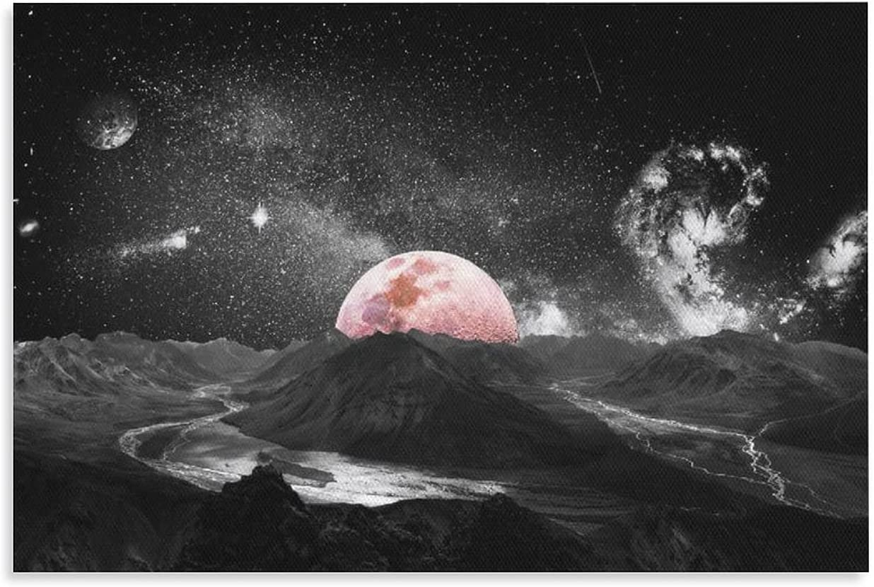 Moon SALENEW Special Campaign very popular Universe Galaxy Space Posters Aesthetics Home Office D Wall