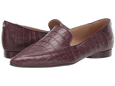 Naturalizer Haines (Bordo Crocco Print Leather) Women