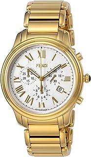 [フェンディ] 腕時計 クラシコクロノ ホワイト文字盤 F252414000 並行輸入品 ゴールド