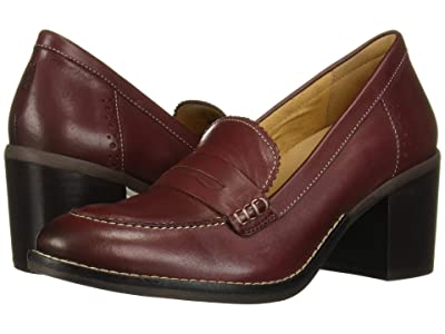 Hush Puppies Hannah Penny Mocc (Cordovan Leather) Women