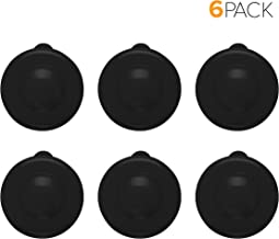 Brio Dew Cap Crown Top Replacement Cap - 6 Pack - 55mm Snap On Cap for Crown top lids for 3 & 5 Gallon Water Bottles