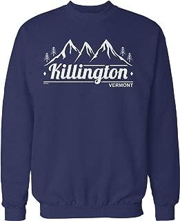 Hoodteez Killington, Vermont Crew Neck Sweatshirt