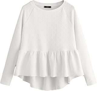smock top white